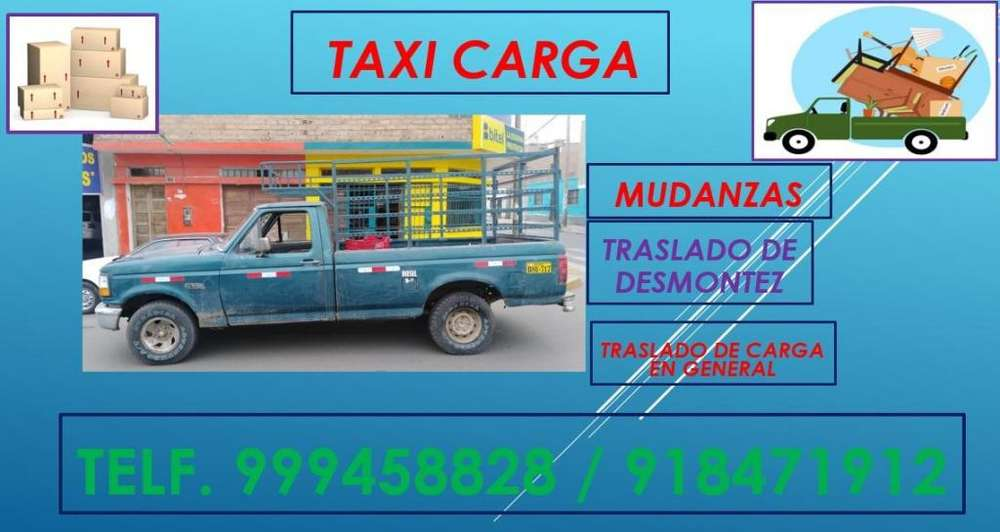 Mini Mudanzas Fletes// Taxi Carga en Huaral
