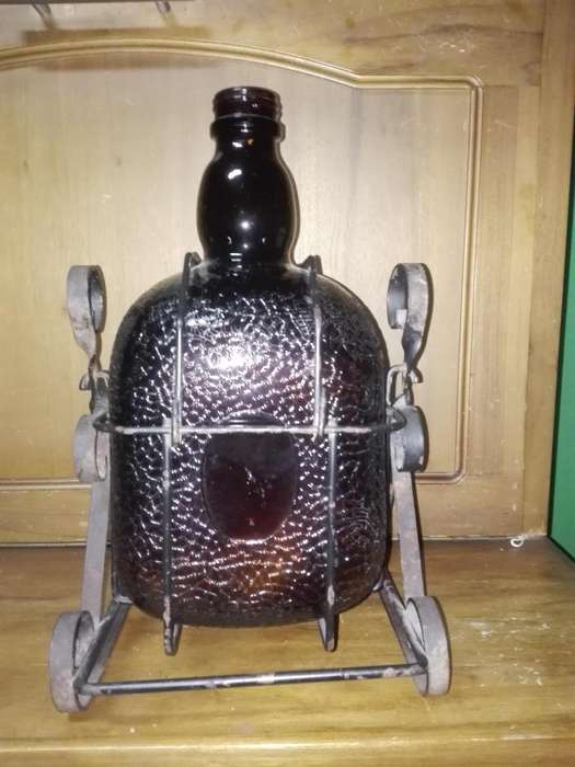 Botella Antigua De Old Parr Coleccion Y Decorativa