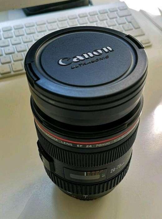 Canon EF 24-70mm f/2.8 Lente USM