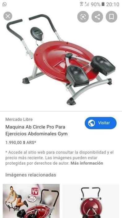 Maquina Ab Circle Pro para Ejercicios