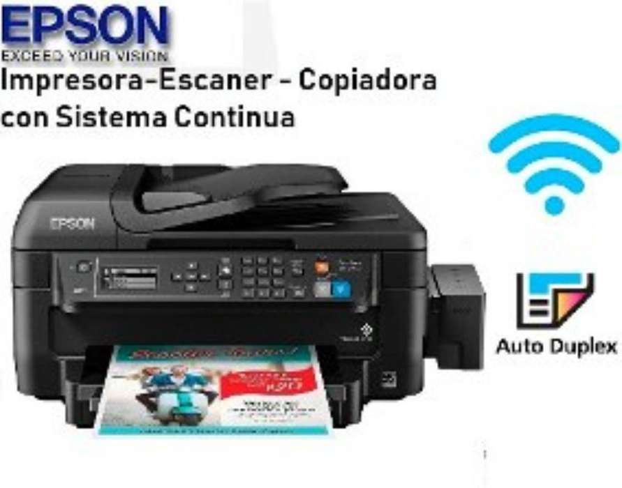 Impresora Epson Wf-2750 Wifi Adf Duplex
