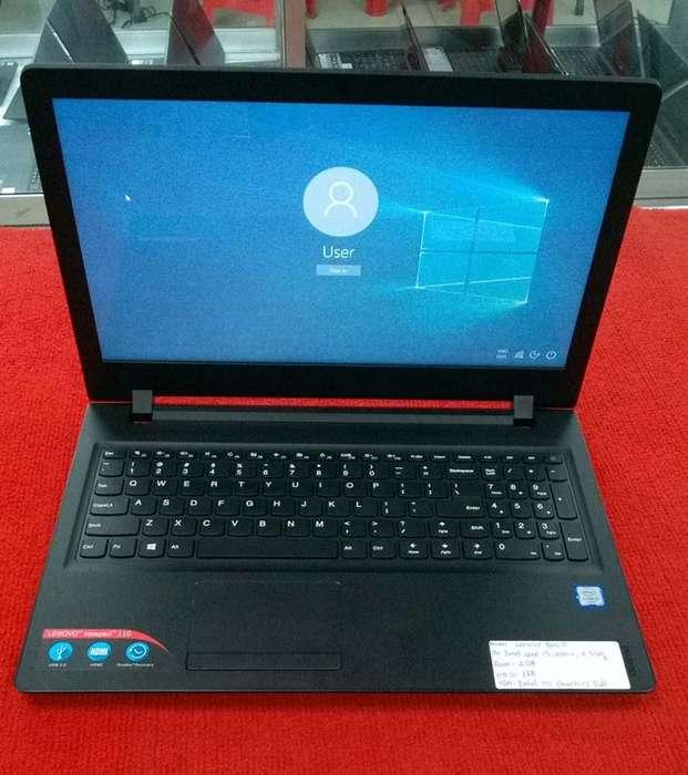 Vendo Laptop Lenovo Ideapad 110 Core i3,8GB RAM,1Thera de Disco Duro,Windows10 Semi Nueva 10/10pts