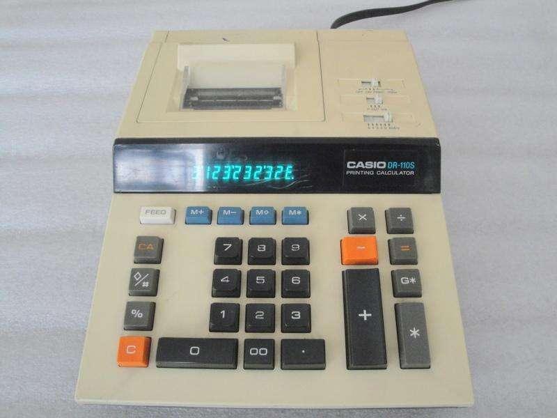 Venta de Calculadora Casio Con Impresora