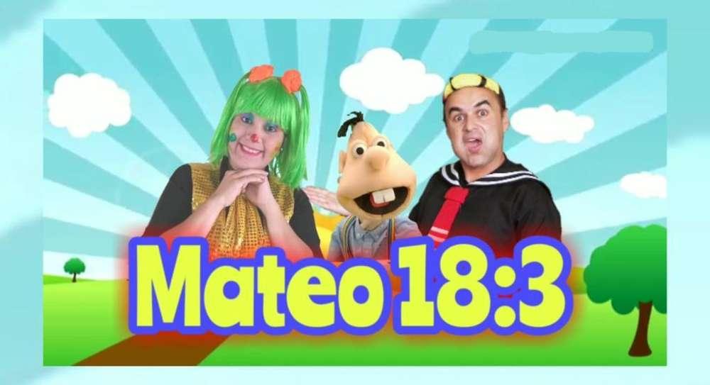 Animación Recreación Mateo18.3