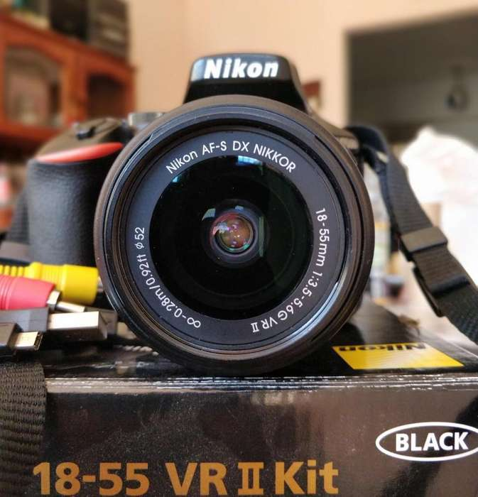 Nikon D5500 kit 18-55mm / 25 mil disparos aprox.