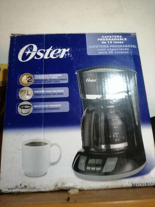 <strong>cafetera</strong> Oster Programable