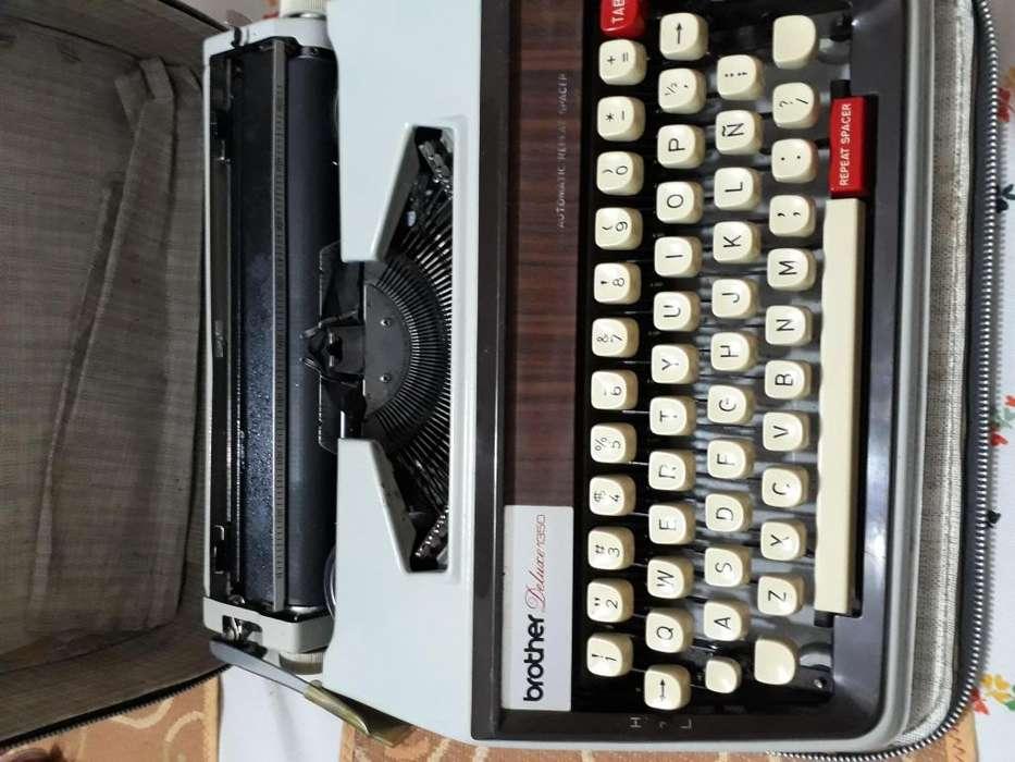 Maquina Escribir Brother usada