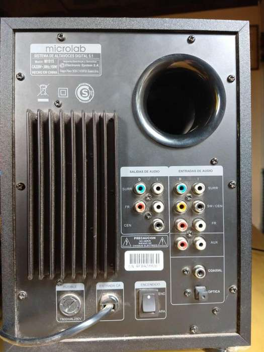 Home Theater MICROLAB m1915