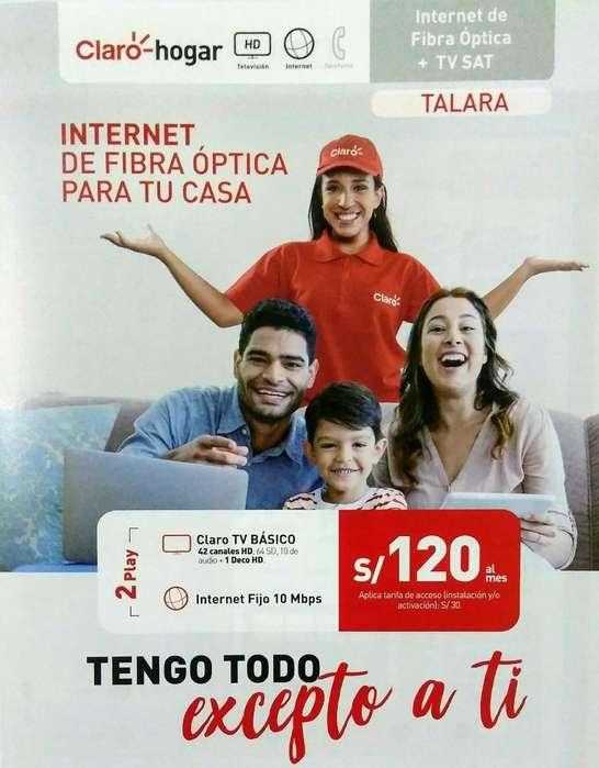 Internet Fijo Ilimit. Y Televisión Hd