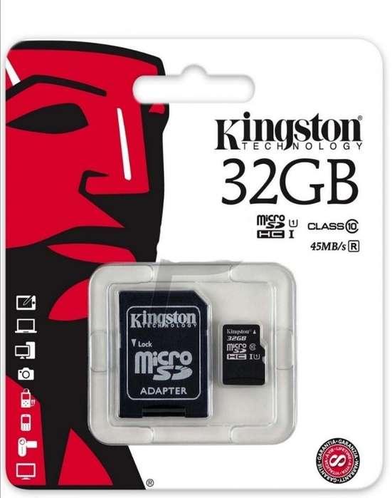 Tarjetas Micro Sd Kingston Nuevas