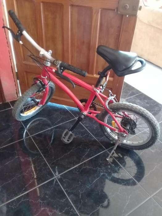Vendo Bicicleta en Buen Estado Aro#16