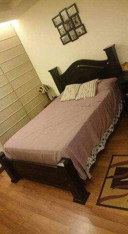 <strong>cama</strong> de 2 pl de madera
