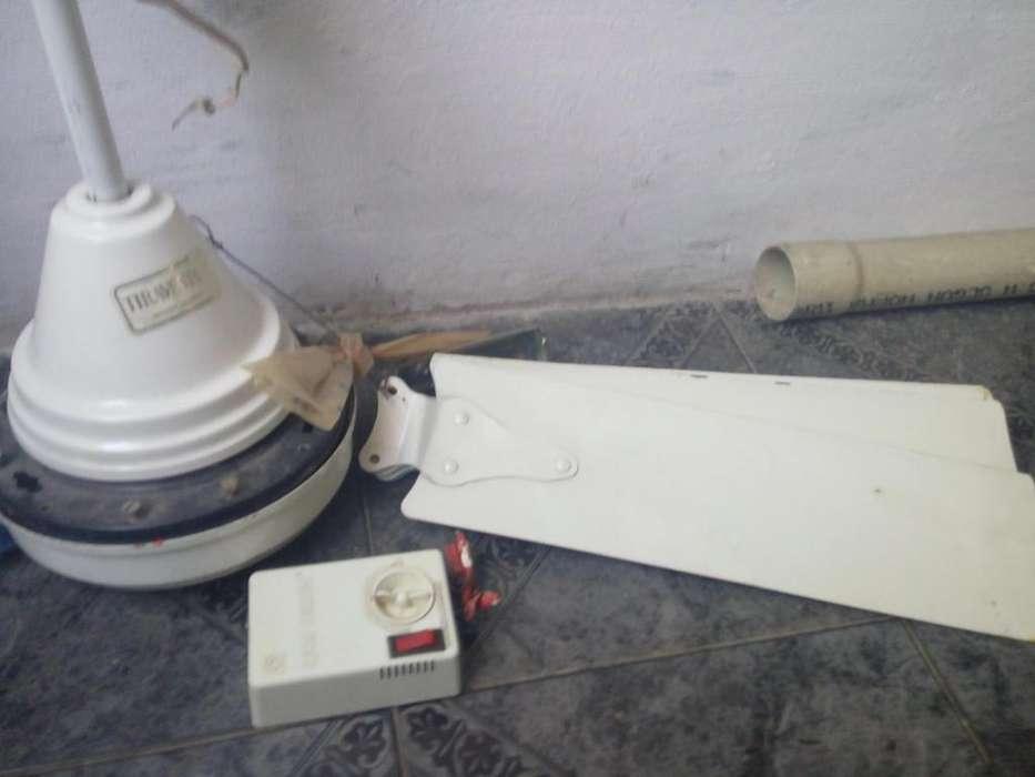 Ventilador de techo tiravento