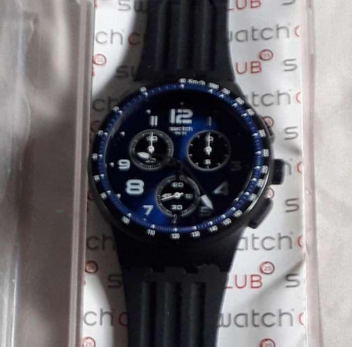Reloj Swatch con Cronografo. sin Uso.