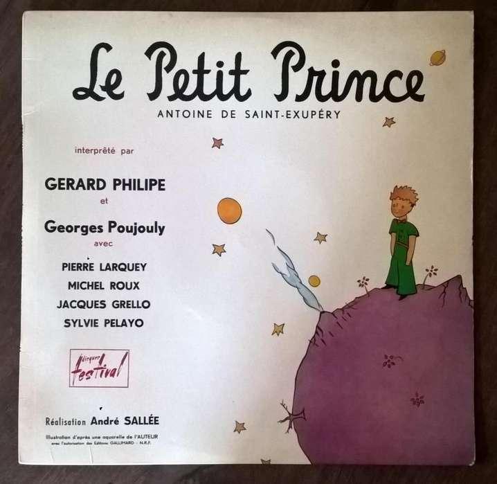 Antiguo Lp El Principito Francia 1954