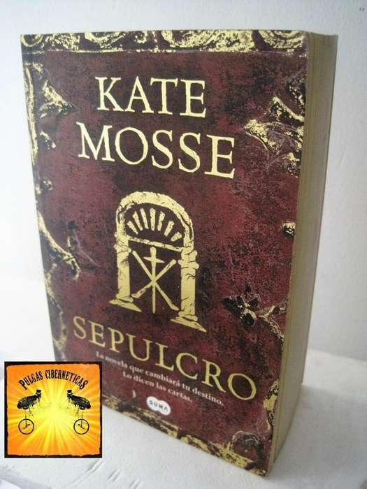 Libro Kate Mosse – El Sepulcro Pulgas Ciberneticas
