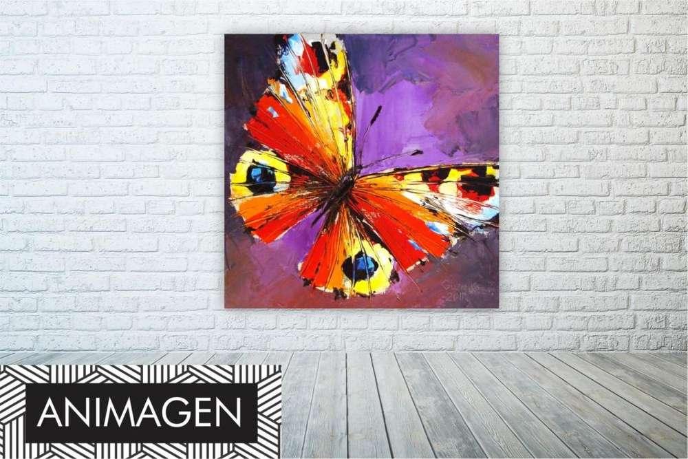 cuadro de mariposa ideal para tu hogar 9956