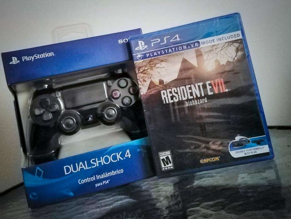 Pack Mando Ps4 Resident Evil 7 (nuevo)
