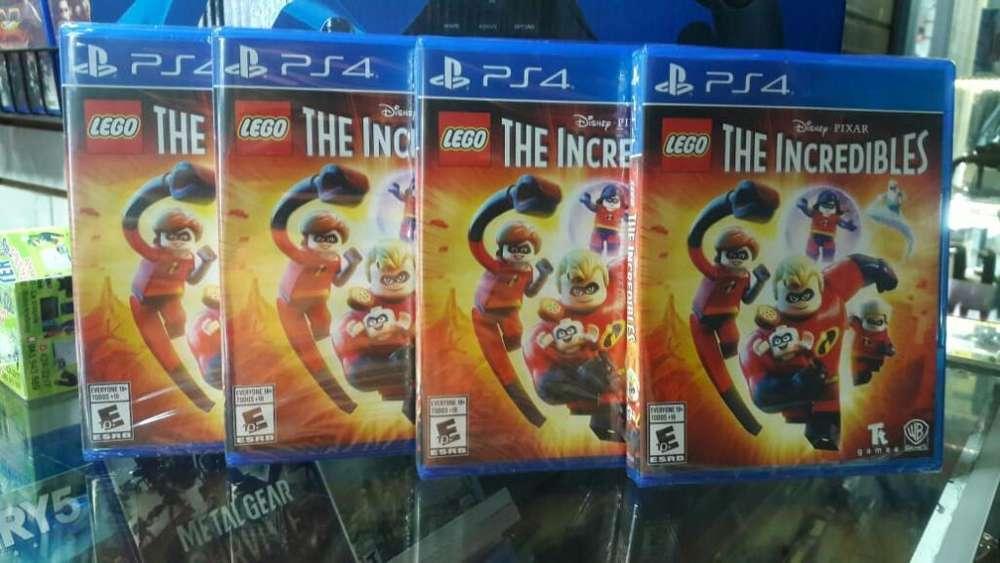 Lego Los Increibles Lego The Incredibles ps4 nuevo sellado stock