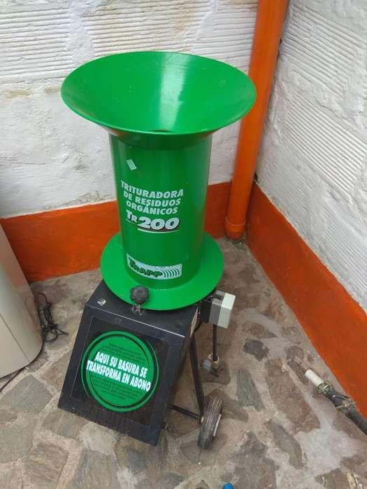 Trituradora de Residuos Orgánicos Tr 200