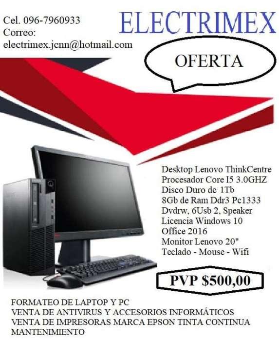 Venta de Computadoras Levono