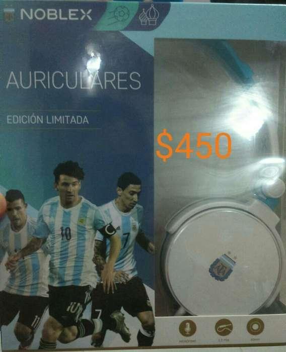 Auriculares Noblex Edición Limitada Afa