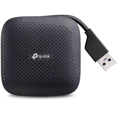 Periférico USB Portable TP-LINK Súper Velocidad USB 3.0 Cuatro Puertos