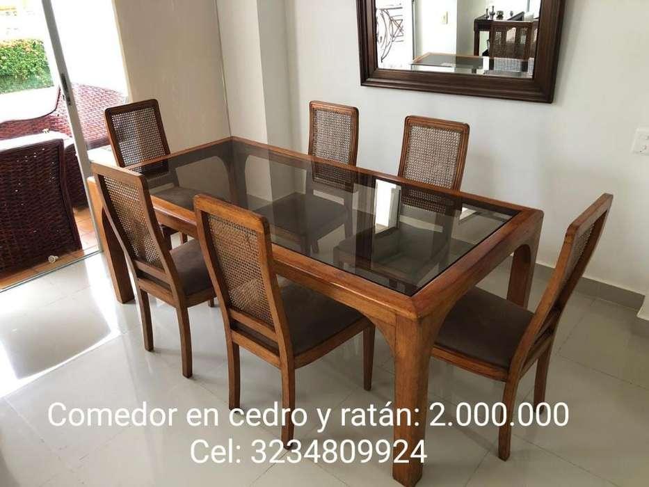 Comedor en Cedro Y Ratán