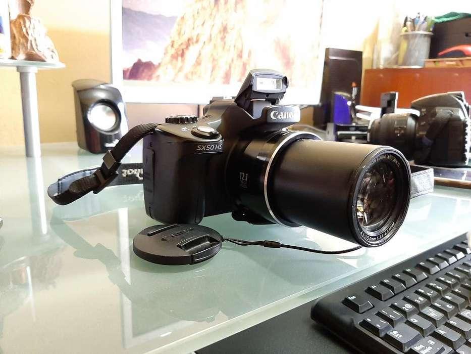 Vendo Cámara Canon Sx50 Hs