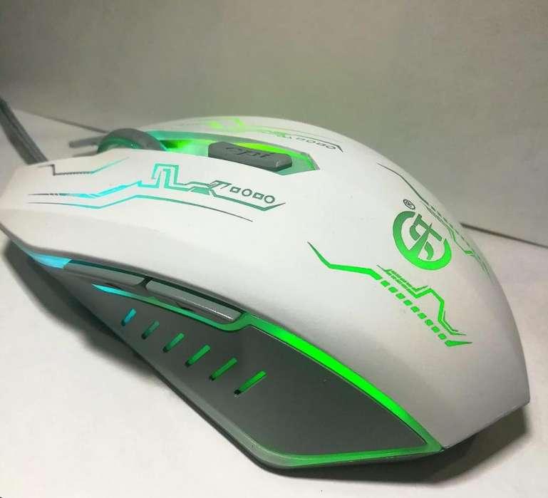 Mouse Gamer E5 Pro Optico LED