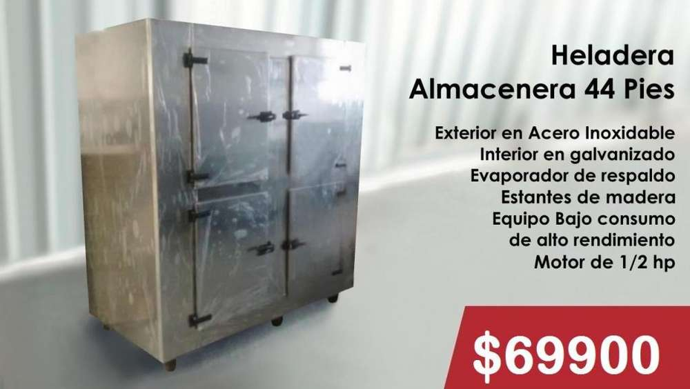 HELADERA ALMACENERA 44 PIES
