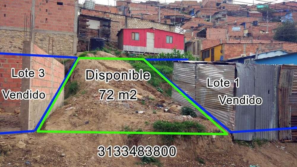 Vendo Lote Barrio El Progreso Soacha