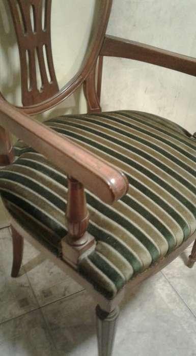 sillas , sillones , mesas de luz , aparador y ...