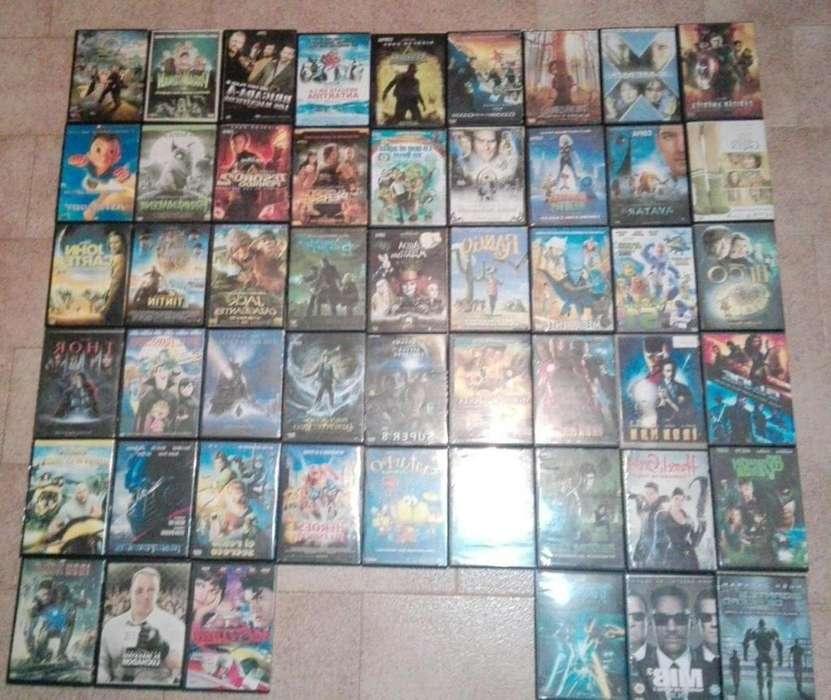 51 PELICULAS/COPIAS DE DVD