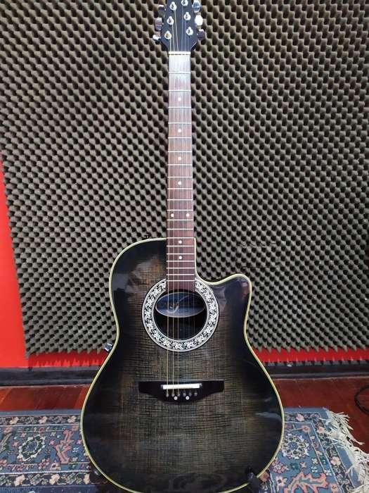 Guitarra Electroacustica Ovation Modelo 386T (ganga) Estuche