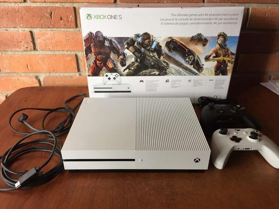Xbox One S, 1 Tb. Como Nueva. Garantia.