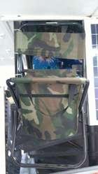 comoda y practica silla bolso con espaldar plegable NUEVA