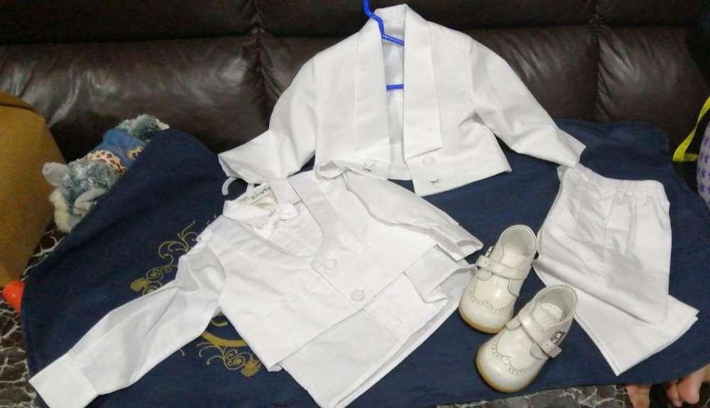 Terno Blanco para Bautizo