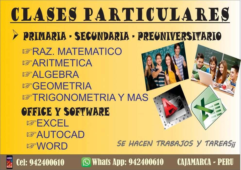 CLASES MATEMÁTICAS 100% PRACTICAS