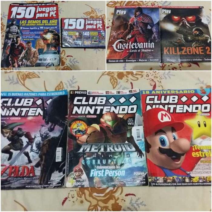 Accesorios Manuales Revistas Club Nintendo Gameboy Gba Ds Mvs Kof
