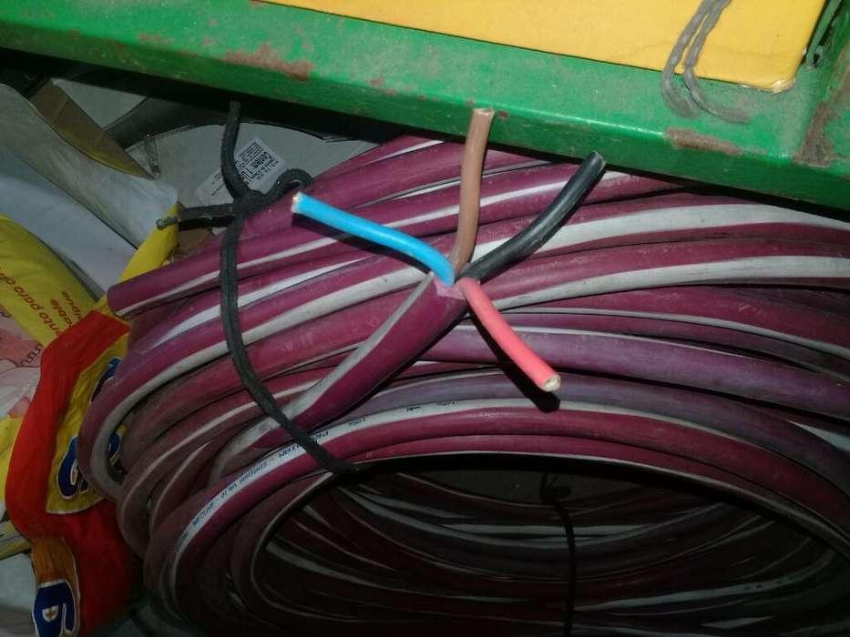 Vendo Cable Supterraneo 4x10 Wasap 36248