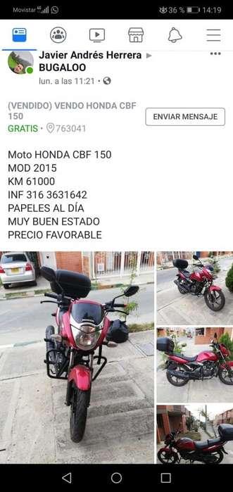 Super Moto CBF 150