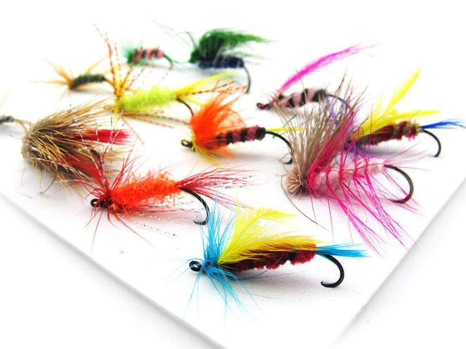 Mosca 12x Parts. Fly Fishing Yinhe