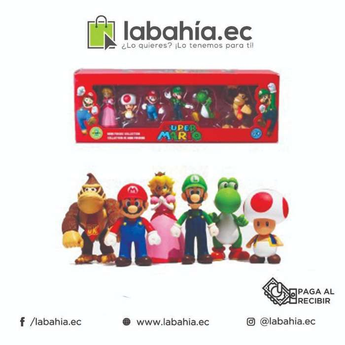 Kit de minifiguras de Súper Mario