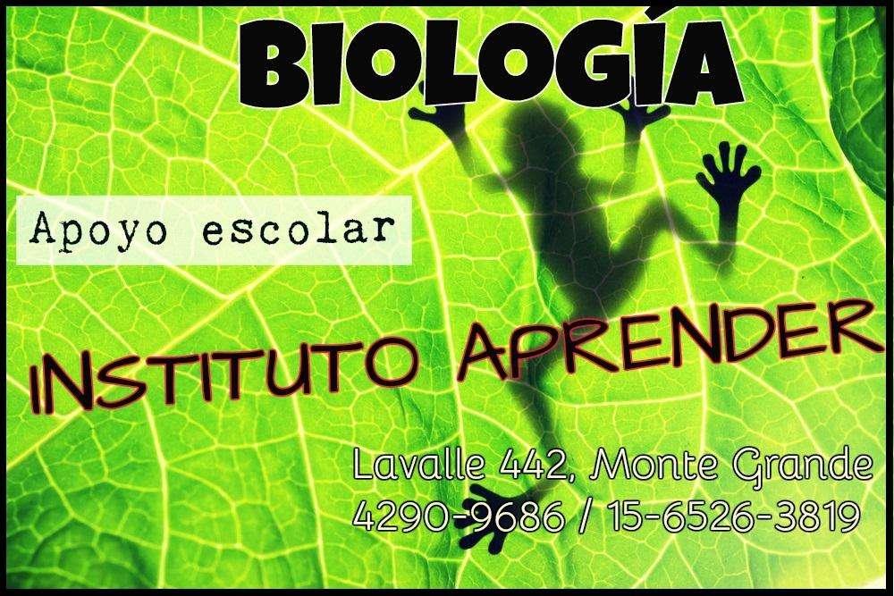 Biología, clases de apoyo en Monte Grande