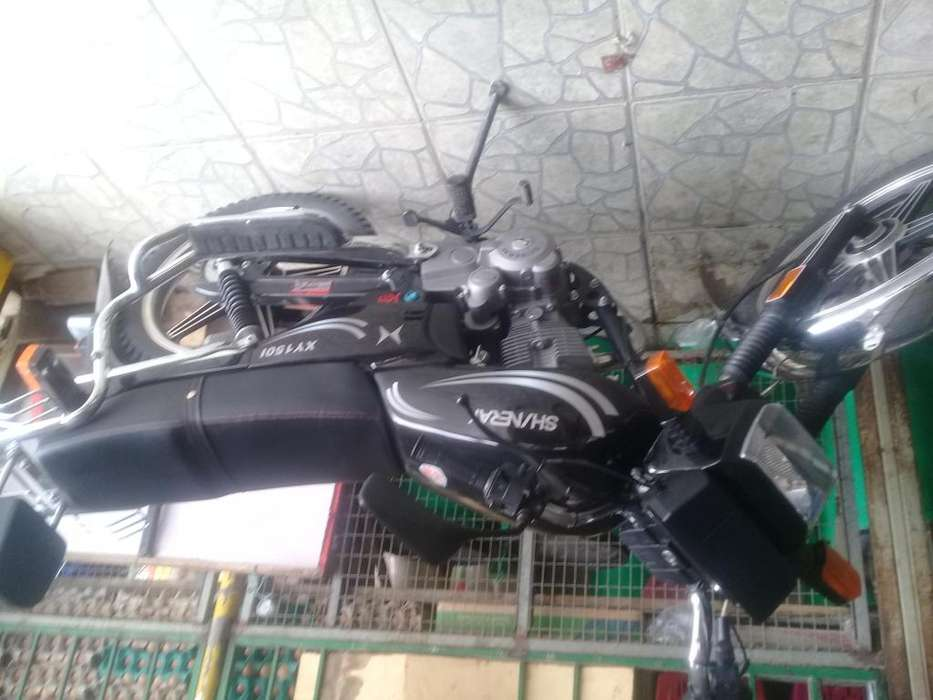 Vendo esta moto marca Shineray 150cc ao 2019 casi nueva