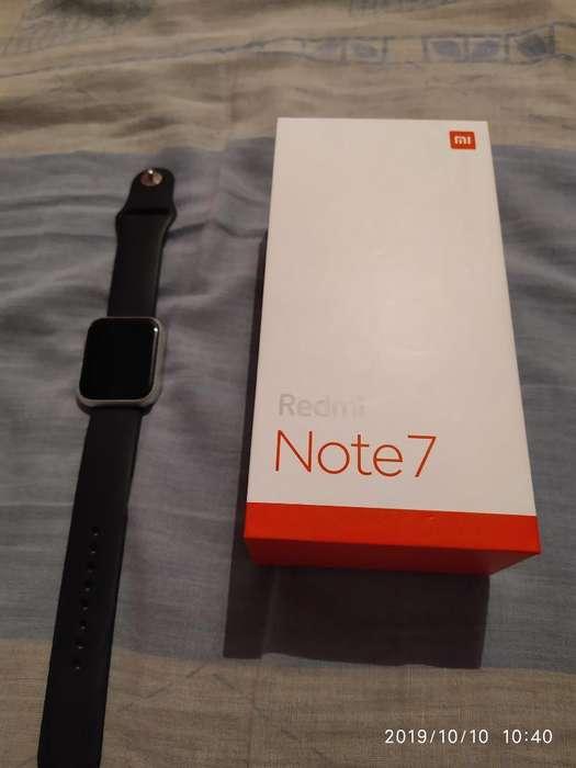Cambio Note 7 Más Reloj por Celular
