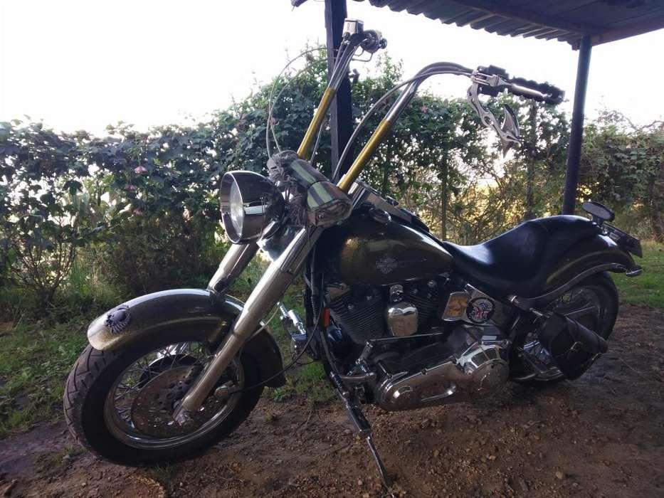 Harley Davidson Heritage Hermosa, personalizada, todo al día!
