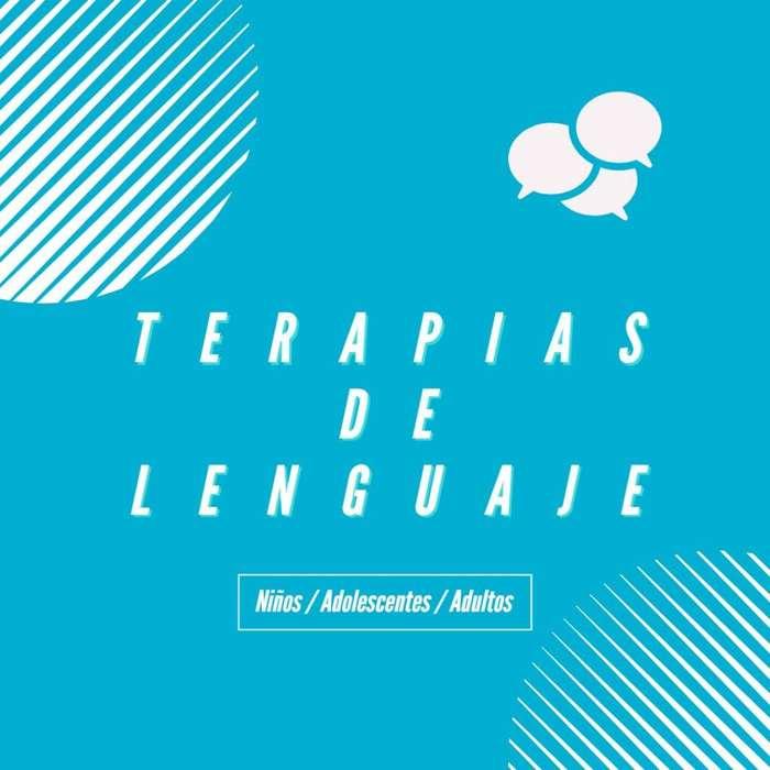 TERAPIAS DE LENGUAJE