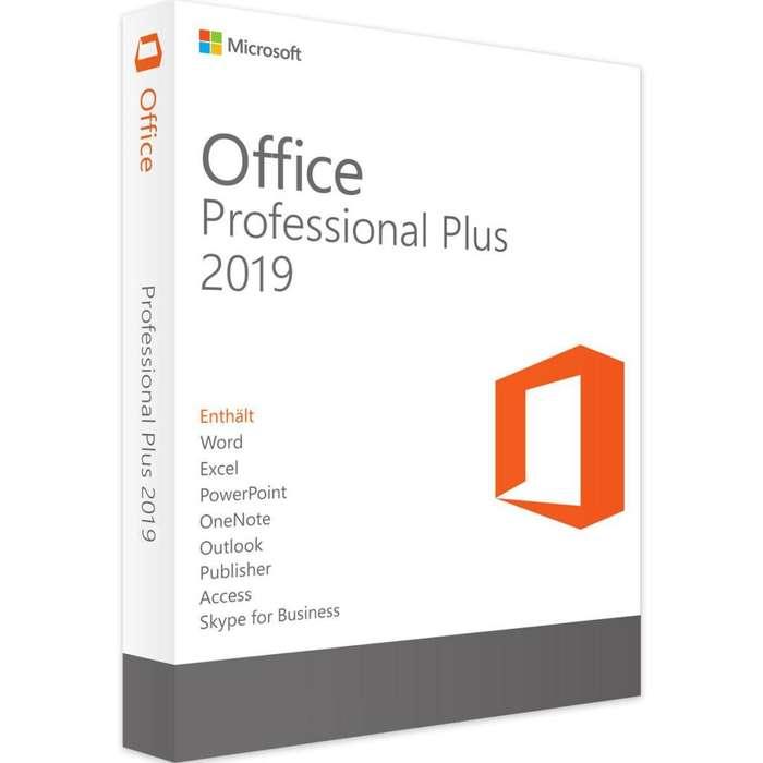Licencia Original Office Professional 2019 Para Windows 10